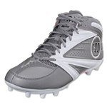 Warrior Second Degree 3.0 Lacrosse Cleats (Grey/White)