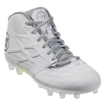 Warrior Burn 8.0 Junior Lax Cleats (White)