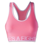 Under Armour Fighter Still Gotta Have it Bra (Pink/White)