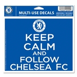 Chelsea Keep Calm 5x6 Decal