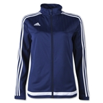 adidas Tiro 15 Women's Training Jacket (Navy)