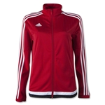 adidas Tiro 15 Women's Training Jacket (Red)