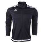 adidas Tiro 15 Training Jacket (Black)