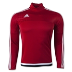 adidas Tiro 15 Training Top (Red)