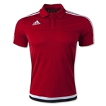 adidas Tiro 15 CL Polo (Red)