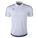 adidas Tiro 15 CL Polo (White)