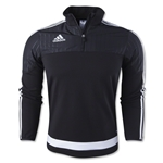 adidas Tiro 15 Fleece Top (Black)