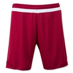 adidas MLS 15 Match Soccer Shorts (Cardnal/Wh)
