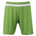 adidas MLS 15 Match Soccer Shorts (Green/Wht)