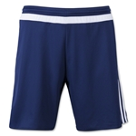 adidas MLS 15 Match Soccer Shorts (Navy/White)