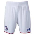 Cruz Azul 14/15 Shorts de Futbol Local