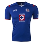 Cruz Azul 14/15 Authentic Home Soccer Jersey