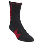 Under Armour Undeniable Crew Sock (Blk/Red)