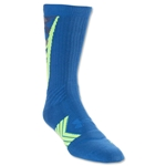 Under Armour Undeniable Camo Crew Sock (Blue)
