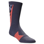 Under Armour Undeniable Camo Crew Sock (Dk Grey)