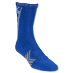 Under Armour Undeniable Camo Crew Sock (Royal/Gray)