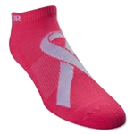 Under Armour Power in Pink No Show 3 pack Sock (Pink/Sv)