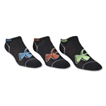 Under Armour Youth Solo IV No Show Sock (Black)