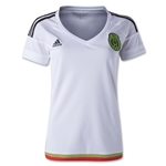 Mexico 2015 Womens Away Soccer Jersey