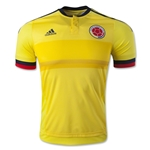Colombia 2015 Authentic Home Soccer Jersey