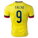 Colombia 2015 FALCAO 9 Authentic Home Soccer Jersey