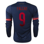 Colombia 2015 FALCAO LS Away Soccer Jersey