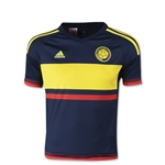 Colombia 2015 Youth Away Soccer Jersey