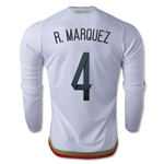 Mexico 2015 R. MARQUEZ LS Away Soccer Jersey