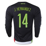 Mexico 2015 J. HERNANDEZ LS Home Soccer Jersey