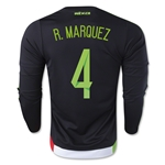 Mexico 2015 R. MARQUEZ Jersey de Futbol Local ML