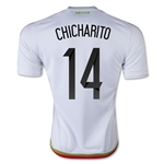 Mexico 2015 CHICHARITO Away Soccer Jersey
