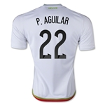 Mexico 2015 P. AGUILAR Away Soccer Jersey
