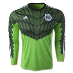 Mexico 2015 LS Home Goalkeeper Jersey