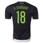 Mexico 2015 A. GUARDADO Jersey de Futbol Local