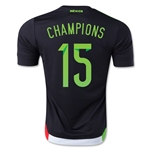Mexico 2015 CHAMPIONS Home Soccer Jersey