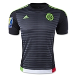 Mexico 2015 Home Soccer Jersey w/ Gold Cup Patch