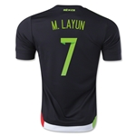 Mexico 2015 M. LAYUN Jersey de Futbol Local
