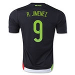 Mexico 2015 R. JIMENEZ Home Soccer Jersey