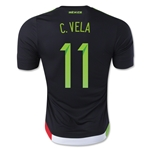 Mexico 2015 C. VELA Authentic Home Soccer Jersey