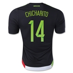 Mexico 2015 CHICHARITO Authentic Home Soccer Jersey