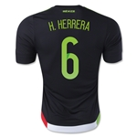 Mexico 2015 H. HERRERA Authentic Home Soccer Jersey