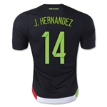 Mexico 2015 J. HERNANDEZ Authentic Home Soccer Jersey