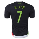 Mexico 2015 M. LAYUN Authentic Home Soccer Jersey