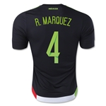 Mexico 2015 R. MARQUEZ Authentic Home Soccer Jersey