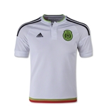 Mexico 2015 Youth Away Soccer Jersey