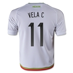 Mexico 2015 CARLOS V Youth Away Soccer Jersey