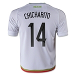Mexico 2015 CHICHARITO Youth Away Soccer Jersey