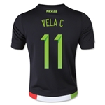 Mexico 2015 CARLOS V Youth Home Soccer Jersey