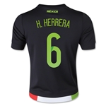 Mexico 2015 H. HERRERA Youth Home Soccer Jersey