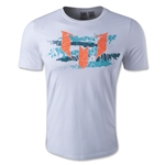 adidas Messi Metallic Graphic T-Shirt (White)